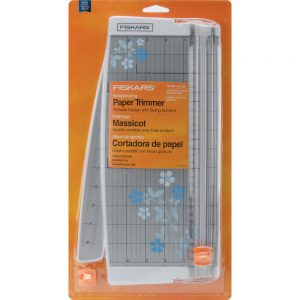 Fiskars Portable Scrapbooking Paper Trimmer