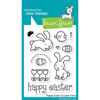 "Lawn Fawn Clear Stamps 3""X4"""