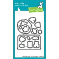 High quality, steel craft dies. Some coordinate with stamp sets for even more creative choices.