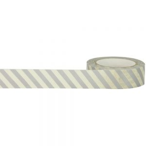 Cream Strip Washi Tape