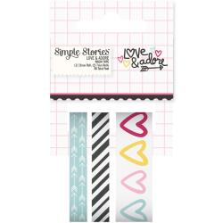 Washi Tape, Love and Adore